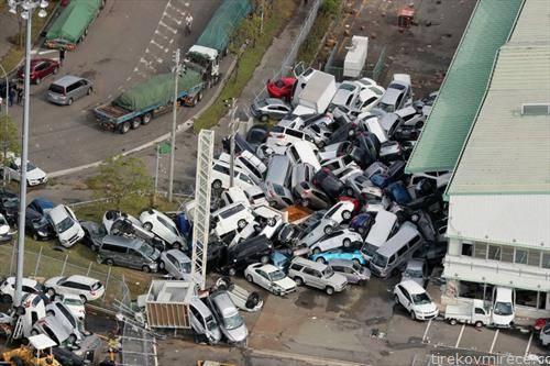 автомобили по невремето во Јапонија