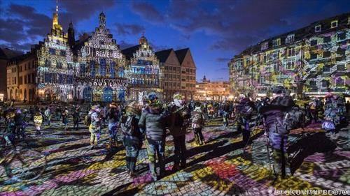 Фестивал на светлината во Франкфурт