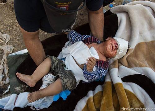 децата и натаму страдаат најмногу во мосул