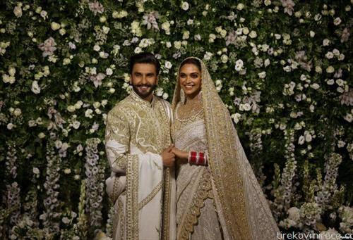 боливудски актери се венчаа во Индија