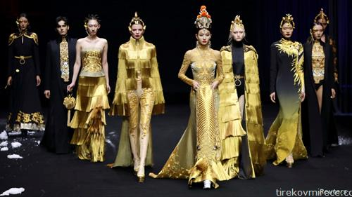 модна ревија во Пекинг