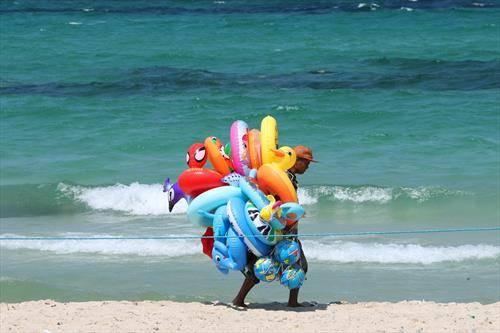 на плажа во Тунис