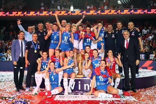 одбојкарките на Србија се нови европски првенки