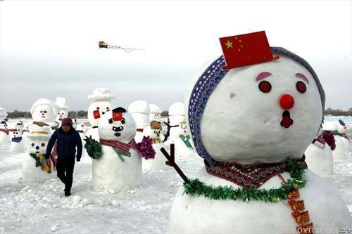 снежен фестивал на снешковци, во кина