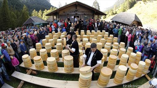 саем на кашкавал во Швајцарија
