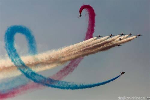 британската кралска авијација на аеро митинг во Атина