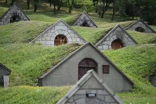 Вински подруми во североисточна Унгарија
