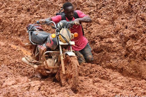 после дождот во Либерија