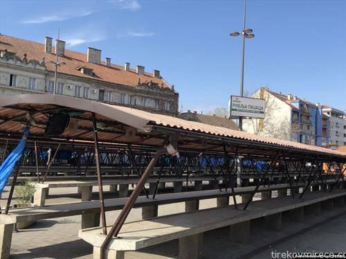 пазарот во Нови сад