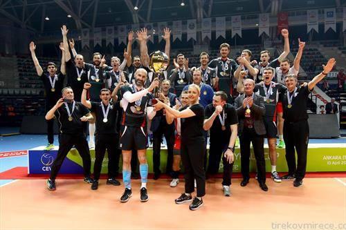 Рускиот Белгородие од Белгород е победник на Купот на ЦЕВ