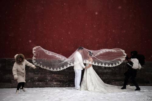 позирање за венчавка во Пекинг