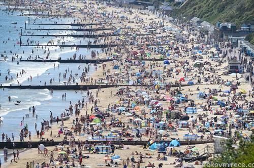 плажите во британскиот град бурмут