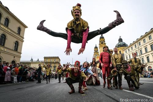 парада за отворањето на Октобер фест