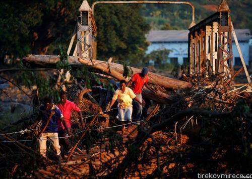 После циклонот во Зимбабве