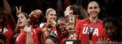 САД се новите светски првенки во кошарка жени