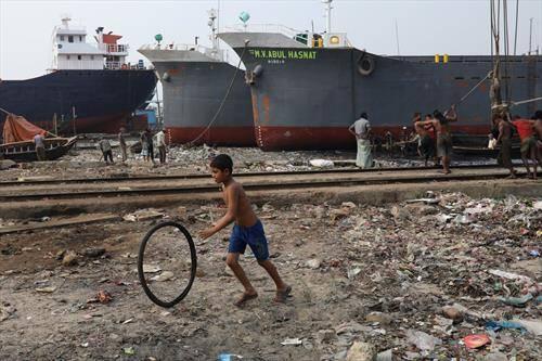 пристаниште во Дака бангладеш