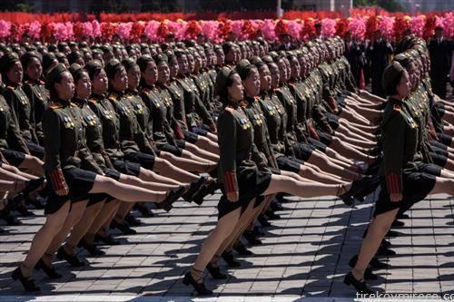 парада на северно корејската војска