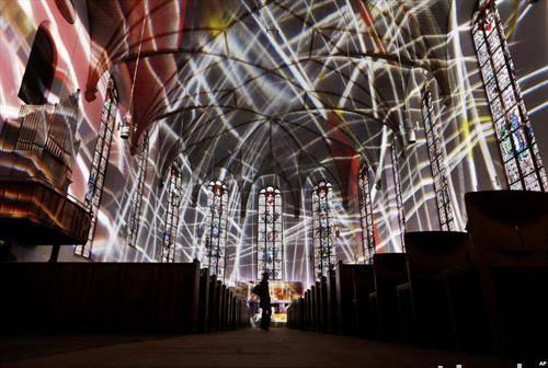 фестивал на светлото во Франкфурт Германија