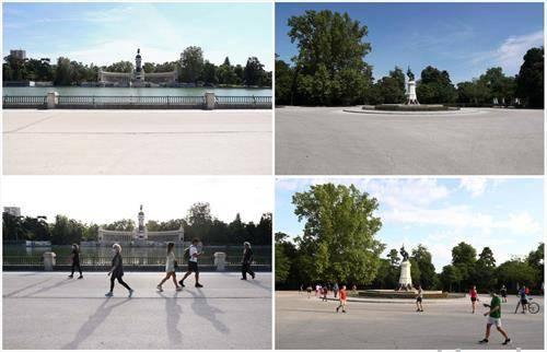 Мадрид пред и по полицискиот час