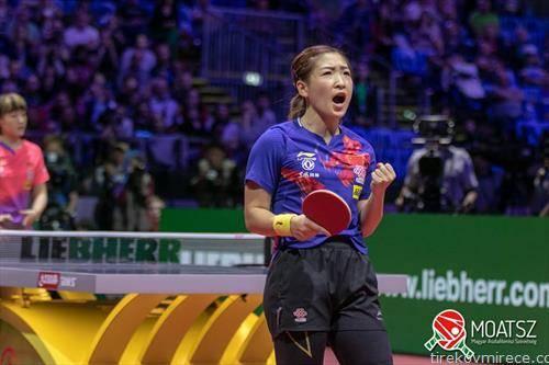 Лиу Шивен е нова светска првенка во пинг понг