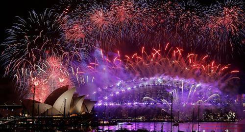 нова година 2017 додје во Сиднеј