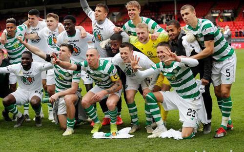 фудбалерите на Селтик се по 50 пат прваци на Шкотска
