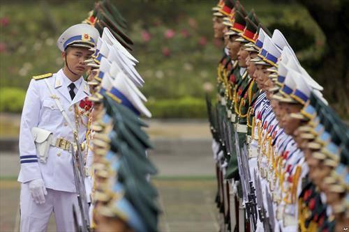 Виетнамска војска пред доаѓањето на Трампа