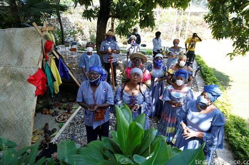 протест порив корана мерките за заштита во Хаити