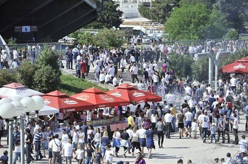 публиката тргна на Пољуд на дербито Хајдук Динамо, загребчани победија