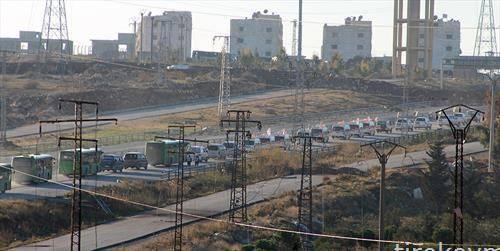 Конвој со ранети и граѓани го напушта Алепо