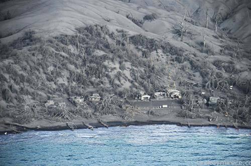 село на Филипините, по ерупцијата на вулканот Таал