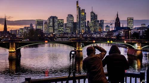 Франкфурт на зајдисонце