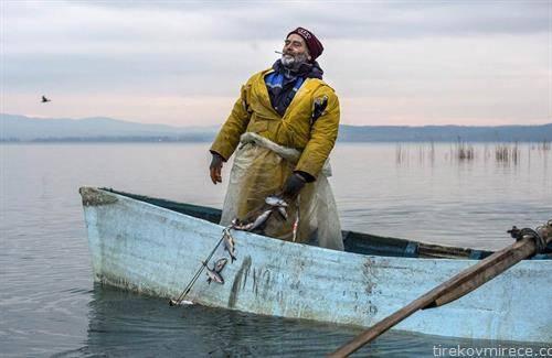 рибар  на дојранско езеро