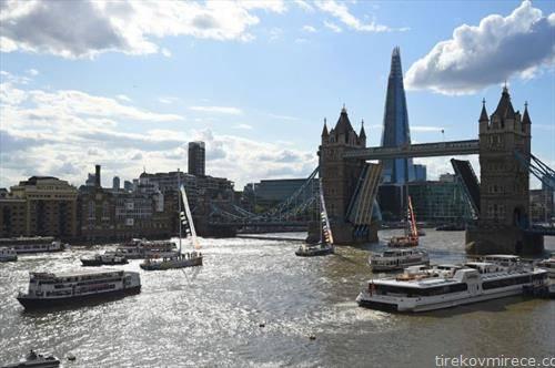 големата океанска трка на јахти стигна до Лондон, ќе заврши до година