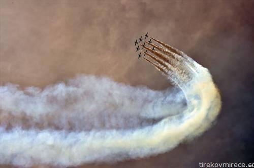 италијанската воена авијација на аеро парада