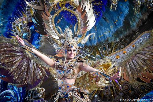 карневал во Тенерифе