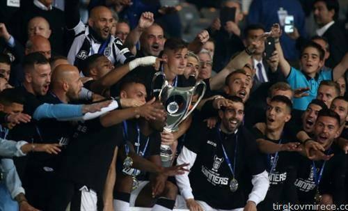фудбалерите на ПАОК го освоија Купот на Грција