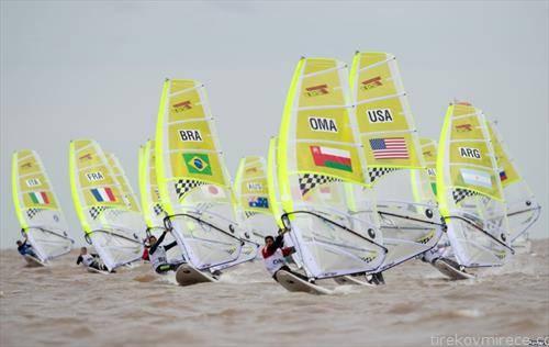 едрење на даска на Младинските Олимписки игри во Аргентина