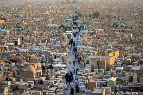 гробишта во ирачки град