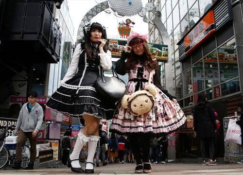 мода по улиците на Токио