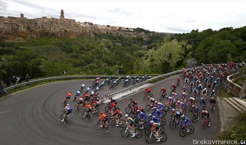 велосипедска трка низ Италија