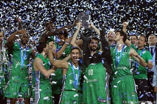 екипата на турска дарушафака го освои евро купот во кошарка