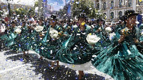 прослава на летото кое доаѓа во Боливија