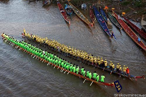 годишен натпревар во веслање во Камбоџа