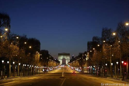 улиците на париз