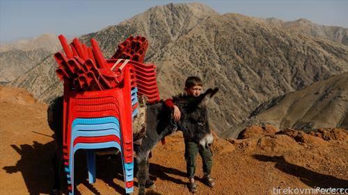 изборен материјал се транспортира за претседателските избори во Авганистан
