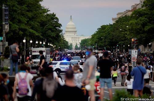 протести во сад, по смртта на лице како последица на употреба на сила од полицаец