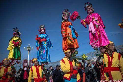 заврши прославата на Кинeската Нова гoдина