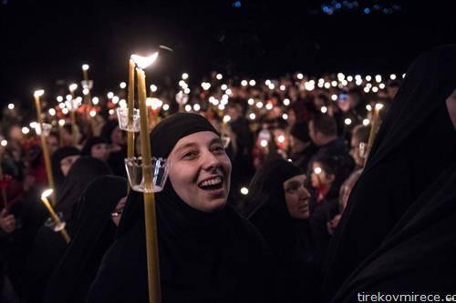 Велигден во манастирот Св. Јован Бигорски