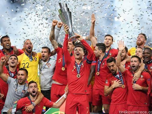 селекцијата на Португалија е првиот освојувач на Лигата на народите во фудбал